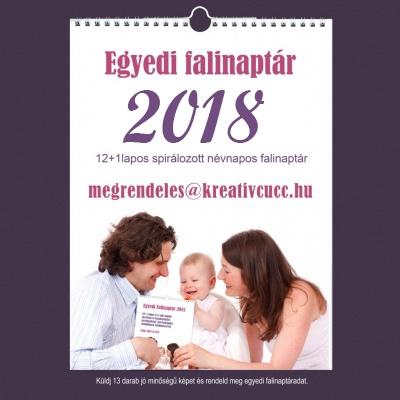 naptár 2018