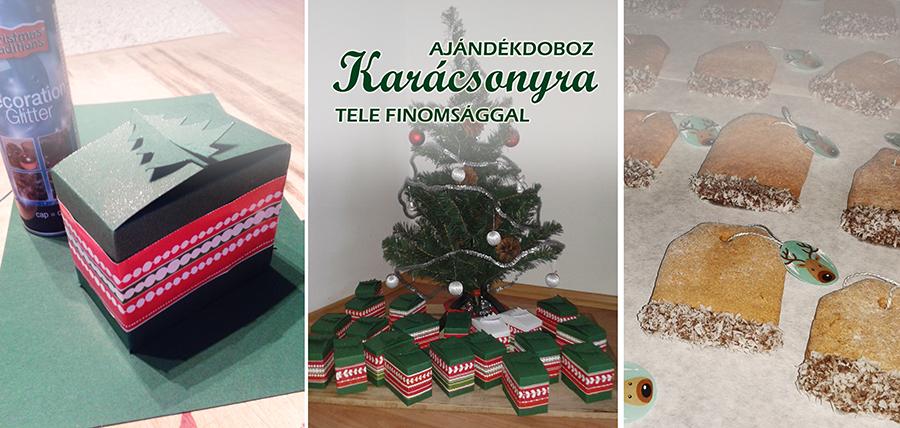 ajándékdoboz karácsonyra