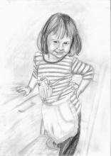 gyermek portré egész alakos