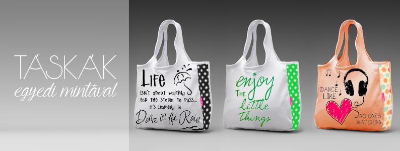 Egyedi táskák