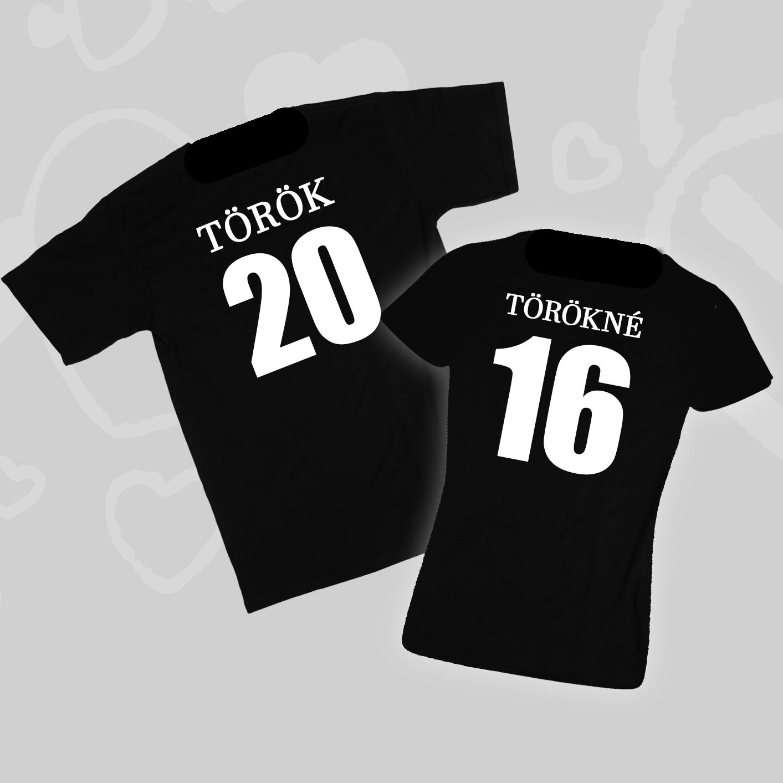 Focimezek - Páros pólók - Kreatívcucc - Ajándék ötletek 2142dd4a7d
